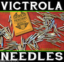 300 SPEAR SHAPE Victrola NEEDLES for Gramophone Phonograph Sound-Box Reproducer