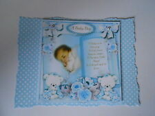 PK 2 BABY BOY BOOK EMBELLISHMENT TOPPERS FOR CARDS & CRAFT