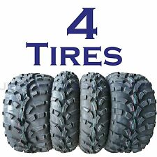 SET OF 4 KENDA K590 ATV TIRES 25-8-12 FRONT 25-11-12 REAR 2 OF EACH like AT489
