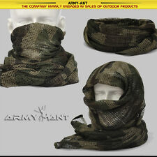 Italian 3-color Camo 1st pattern Mesh Scarf Wrap Cover Mask Shemagh Sniper Veil