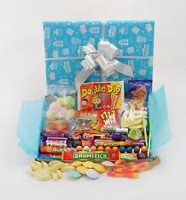 Retro Sweets FUN Treats Hamper Box BIRTHDAY Thanks GET WELL Party! Large Mix