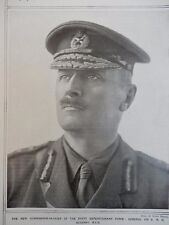 1917 GENERAL ALLENBY NEW COMMANDER IN CHIEF EGYPT EXPEDITIONARY FORCE WWI WW1