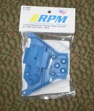 RPM 73565 FRONT BULKHEAD  TRAXXAS SLASH LCG 4X4 1/10 SCALE RALLY BLUE NEW