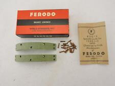 19-7724 NOS Ferodo Brake Shoe Linings Triumph BSA Norton AJS Lightweight? W52
