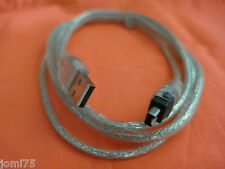 CABLE 1 Mètre Adaptateur USB FireWire IEEE 1394 iLink Apple Mini DV SONY Camera