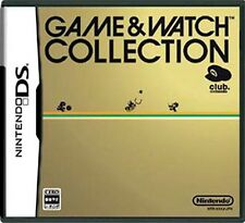 Used Nintendo DS Game & Watch Collection Club Nintendo Japan Import