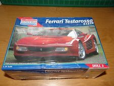 1/24 Monogram Ferrari Testarossa 512TR plastic model kit 512 TR Factory Sealed