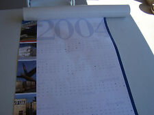 Nice Poster Size Calendar - United Airlines Cargo - 2004