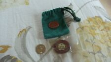 MULBERRY St Petersburg Challenge Enamel & Metal Brooch, Pin, Badge & Pouch