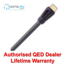 QED Performance HDMI Lead - 4k 3D High Speed with Ethernet 1080p - QE6010 - 1.5m