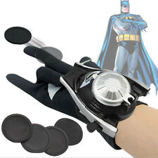 Batman Launchers Gloves DC Comics Superhero Cosplay Costume Holloween Kids Toy