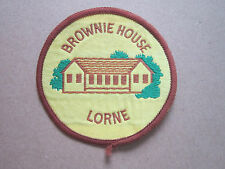 Brownie House Lorne Woven Cloth Patch Badge