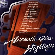 Acoustic Guitar Highlights 1 (Acoustic Music) peter doigt, woody Mann, Dean aime