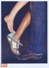 Diesel Footwear 2005 Magazine Advert #1107
