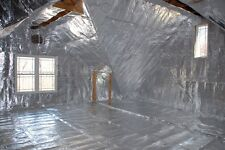 1000sqft Radiant Barrier Solar Attic Foil Reflective NASA Insulation 2x500