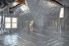 500 sqft Radiant Barrier Solar Attic Foil Reflective NASA Insulation 2x250
