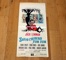 SOTTO L'ALBERO YUM YUM locandina poster affiche Under the Tree Jack Lemmon 1963