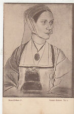 BF18195 hans holbein jr cicely heron painting  art front/back image