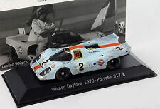 Porsche 917k #2 winner 24h Daytona 1970 dirty version 1:43 spark