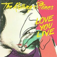 NEW Love You Live by The Rolling Stones CD (CD) Free P&H