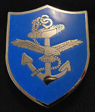 Canadian Armed Forces NAVY Maritime Command enameled metal pocket badge