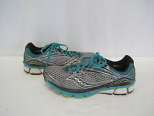 Saucony Power Grid Triumph Green/Grey/Black Running Shoe Size 9 (BL49-1002)