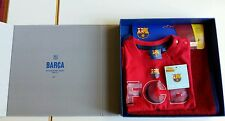 Official fc barcelona bib shortsleeve tshirt 12-18m gift box baby shower nike