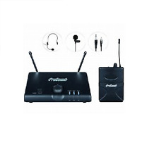 ProSound UHF Headset and Tie Clip Radio Mic Kit
