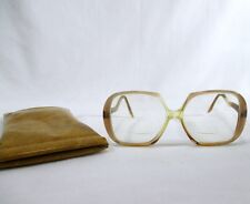Oversized Yves St Laurent Rive Gauche Glasses Sun Paris France Vintage FAB MOD