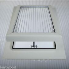 Conservatory Roof Vent For 16mm TripleWall Polycarbonate Sheet & Access rr