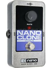 EHX Electro Harmonix Nano Clone Analog Chorus Guitar Pedal / Stomp Box