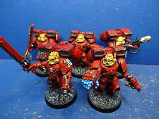 5 Mann Sturmtrupp der Blood Angels GUT BEMALT 3