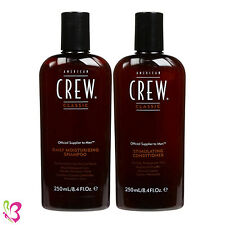 American Crew Daily Moisturizing Shampoo and Stimulating Conditioner 8.4oz (Duo)