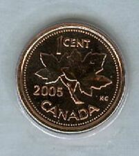2005-P Penny 1 One Cent '05 Canada MAGNETIC BU Coin UNC