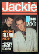 JACKIE MAGAZINE 24 NOV 1984 . FRANKIE GOES TO HOLLYWOOD FRONT COVER. DURAN DURAN