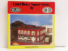 "HELJAN-CON-COR HO U/A ""CROOKSVILLE BANK BLOCK"" PLASTIC MODEL KIT #B903"