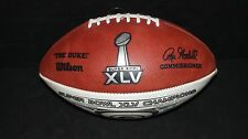 SUPER BOWL XLV CHAMPIONS WILSON FOOTBALL GREEN BAY PACKERS v PITTSBURGH STEELERS