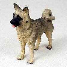 Akita Hand Painted Collectible Dog Figurine Fawn