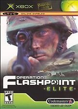 Operation Flashpoint Elite - XBox Live Game with Manual