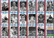 Aston Villa 1957 FA Cup winners football trading cards