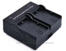 Dual Channel Battery Charger For Canon LP-E5 EOS 450D 500D 1000D XSi T1i LC-E5E
