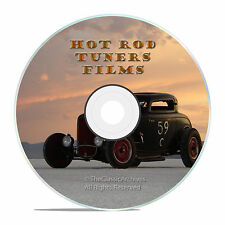50's HOT ROD OPEN ROAD ROADSTERS, RAT RODS FILMS, OLD SCHOOL STREET RACERS -J23