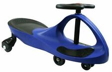 Swing Wiggle Gyro Ride Su Auto pedali NO NO BATTERIE molto divertente UK STOCK BLU
