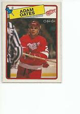 ADAM OATES 1988-89 OPC O-Pee-Chee Hockey card #161 Detroit Red Wings NR MT