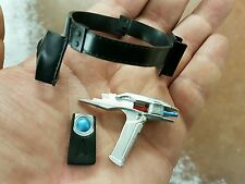 1/6 scale Star Trek Pike 's Belt Handle Phaser + Communictor for 12 inch figure