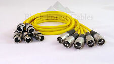 Sommer Cable Stage 22 Gelb High End Kabel mit HICON XLR 5x0,5m