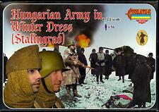Strelets Models 1/72 HUNGARIAN ARMY IN WINTER DRESS IN STALINGRAD Figure Set