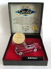 Matchbox Superfast 31f Rolls Royce Silver Cloud - PLUM - Gold Collection