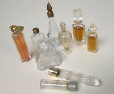 VINTAGE MINIATURE PERFUME BOTTLES ORGANZA YSATIS RED GIVENCHY (FULL)+6 EMPTY