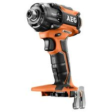 AEG 18V Brushless Motor Oil Pulse Impact Driver +100% Driving Speed- Skin Only
